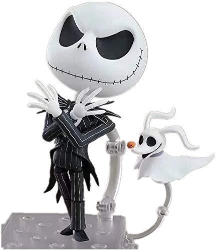 TQGG Nueva Figura de Pesadilla Antes de Navidad Figura de Jack Skellington Figura de acción de Chibi Figura de acción