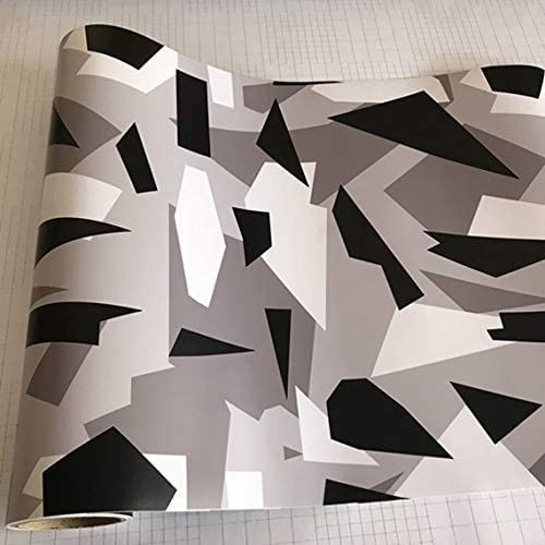 RZL-01 Ruiziliang Black Credence White Grey Snow Camo Vinyl Camoufla 2021 spring and summer new Film