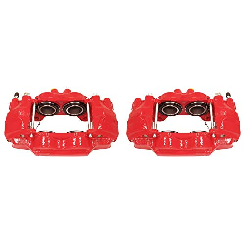 Power Stop S2984 Red Powder-Coated Performance Caliper