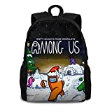 Among Us Game Backpack for Adults Durable Fashion Trend Bags Laptop Bag Daypack For Office, Outdoor, Travel
