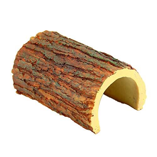 OMEM - Caja de escondite para Reptiles, araña, escorpión y Cuevas, decoración de hábitat, Tortuga, Reptiles de Tortuga, decoración de Fondo de Caja de cría