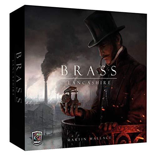 Ghenos Games - Juego de Mesa Brass Lancashire, 1