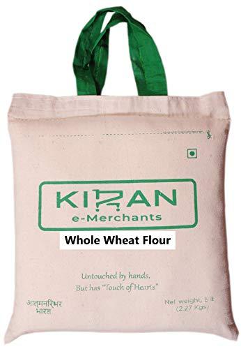 Kiran's Whole Wheat Flour, Eco-friendly pack, 10 lb (4.54 KG)