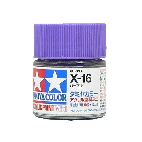 タミヤカラー アクリルミニ X-16 パープル 光沢