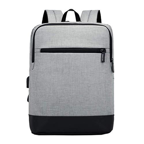 """ZLVWB Reisender Rucksack, Pendler Rucksack Schlank 15.6"""" Notebook & Tablet-Anti-Diebstahl-Geschäft, Schule, Travel-Buch-Tasche (Color : A, Size : One Size)"""