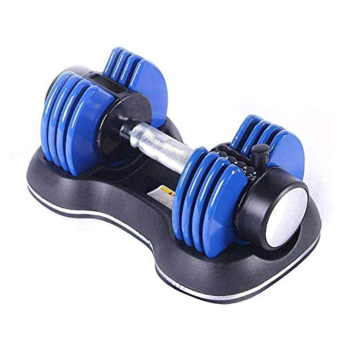 ZWPY Weights Adjustable Dumbbells, Strength Training Dumbell, 1sFast Weight Adjustable, 12.5 lb Exercise Equipment for Men and Women