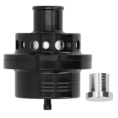 Válvula de descarga de turbina válvula de descarga Universal de aluminio de 25 mm Turbo Bov para Focus RS MK1 / Escort Cosworth/Sierra Cosworth(Negro)