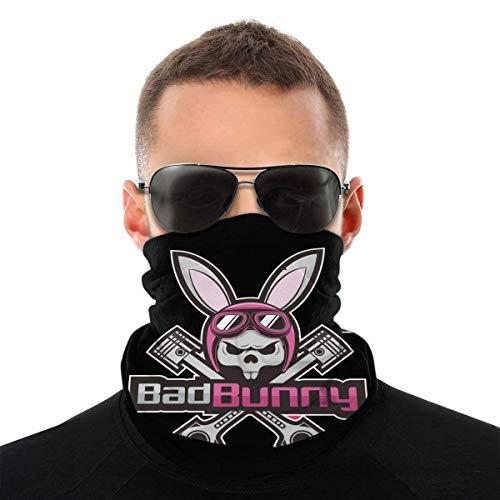 OMarcus Bad Bunny Protección Facial Variedad Pañuelo en la Cabeza Bufanda pasamontañas Pañuelo Polaina con 6 filtros