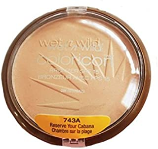 Wet n Wild Color Icon Bronzer (Reserve Your Cabana) - Pack of 2