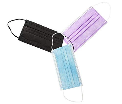 Mascarillas Higiénicas Colores Desechables 3 Capas Adultos 30 Unidades C7