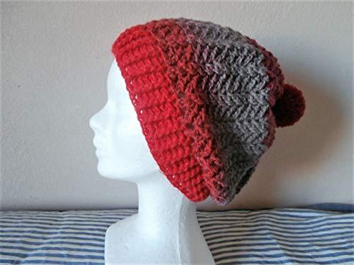 Bonnet unisexe avec pompon en laine