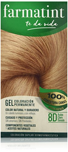 Farmatint Gel 8D Rubio Claro Dorado | Color natural y durade