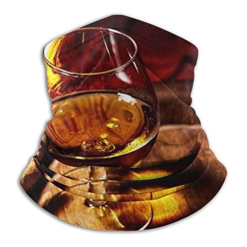 asdew987 Whisky Alcohólico Coñac Cigar On Old Oak Beverage Barril Texturas Alimentos Rara Bebida Roja Protección UV Cara Bufanda Cuello Polaina Transpirable Headwear Diadema Bandana