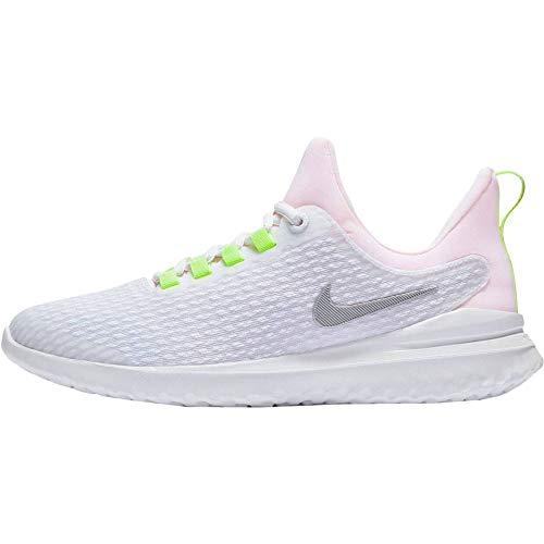 Nike Renew Rival (GS), Scarpe da Campo e da Pista Unisex-Adulto, Multicolore/Bianco/Argento Metallizzato/Platino (Multicolor White Metallic Silver Platinum Tint 100), 37.5 EU