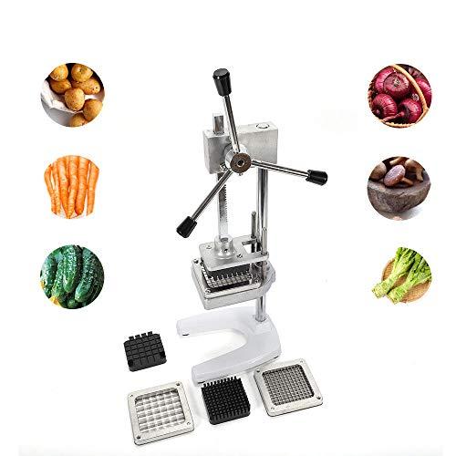 Cortador de patatas profesional Patatas Patatas Dispositivo para Cortar Fruta Vertical, Frutas o Verduras