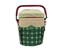 A plaid bucket cooler by Alite Designs