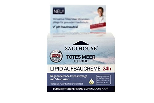 Murnauer Salthouse Totes Meer Therapie Lipid Aufbaucreme 50 ml, 1er Pack (1 x 50 ml)