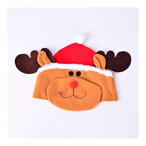 ZXC Home Kerstmuts voor evenement, dikker katoenweefsel, creatieve kindertiara warme muts, decoratie kerstwaren, 3 kleuren optioneel