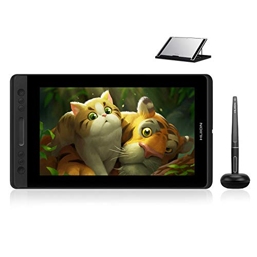 Huion KAMVAS Pro 13 GT-133 Drawing Monitor Pen Display 13.3 Inches Tilt Function Battery-Free Stylus...