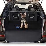 Toozey Telo Auto per Cani - 208*138 Coperta Universale Antiscivolo per Cani con Protezione Laterale e Paraurti, Impermeabile/Antivegetativa, Robusto Telo Auto per Cani, Facile da Pulire, Nero-XL