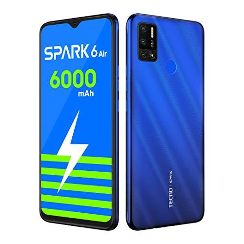 TECNO Spark 6 Air (Ocean Blue, 3GB RAM, 64GB Storage)
