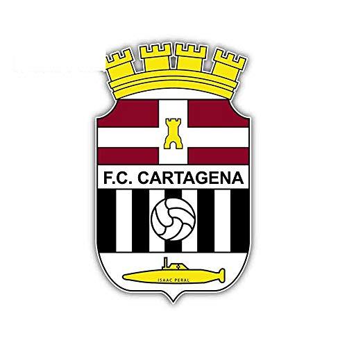 13m x 7.9cm Divertidas calcomanías y calcomanías para autos Tabla de surf de ventana para FC Cartagena FC Spain Football Logo Decal