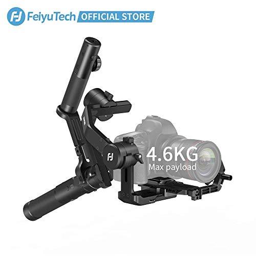 FeiyuTech AK4500 Kardangel-Stabilisator-Set für spiegellose Kameras/DSLR-Kameras, maximale Traglast 4,6 kg …