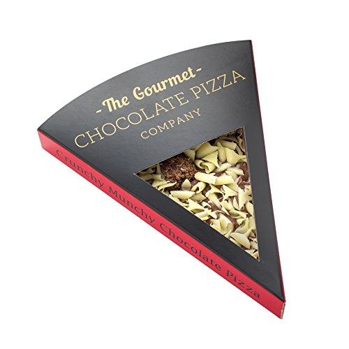 Gourmet Schokolade Pizza. Belgische Schokolade Pizza Slice - (Crunchy Munchy)