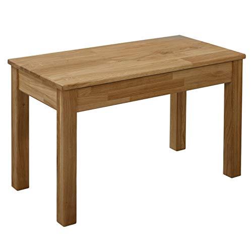 Krok Wood Sitzbank Tomas aus Massivholz in Eiche (70 x 35 x 45)