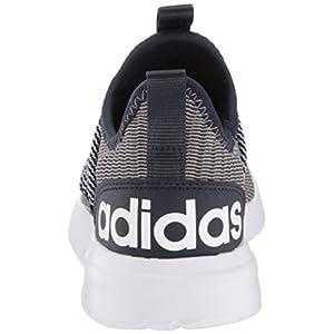 adidas Men's LITE Racer Adapt Running Shoe, Light Granite/Dove Grey/Ink, 9 M US