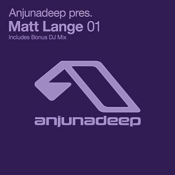 Anjunadeep pres. Matt Lange 01 (iTunes)