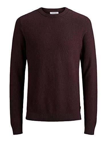 Jack & Jones Jjestructure Knit Crew Neck Noos suéter para Hombre