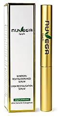 NuVega Lash Eyelash - Vegan eyelash and eyebrow serum made in Germany 1 ml