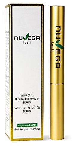NuVega Lash Eyelash - Veganes Wimpern- und Augenbrauenserum made in Germany 1 ml
