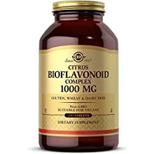 Solgar Citrus Bioflavonoid Complex 1000 mg, 250 Tablets - Antioxidant Support - Promotes Optimal Health - Non-GMO, Vegan, Gluten Free, Dairy Free, Kosher - 250 Servings