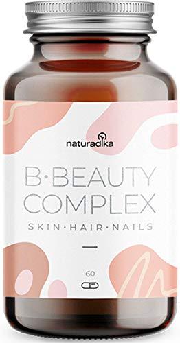 B·Beauty Complex Capelli, Pelle e Unghie | Integratore Capelli con Biotina, Estratti e Vitamine con risultati testati scientificamente | Con AnaGain™ Nu (specifico per la crescita capelli)