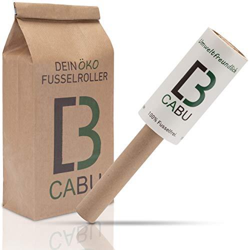 CABU Öko Fusselrolle - 6er Set - Umweltfreundlich und Plastikfrei - Tierhaarentferner - Fusselroller - Fusselrollen