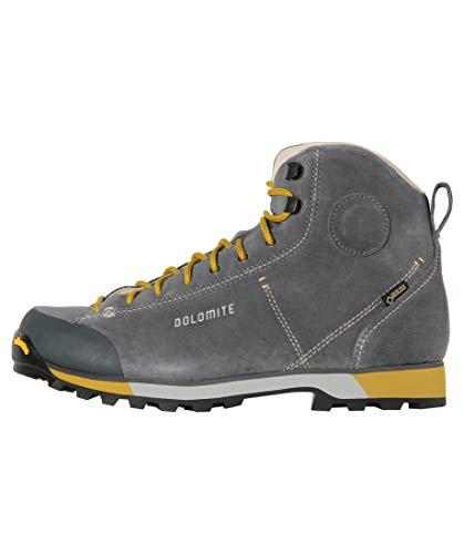 Dolomite Bota Ms Cinquantaquattro Hike GTX, Mocassino Unisex-Adulto, Gunmetal Grey, 42 EU
