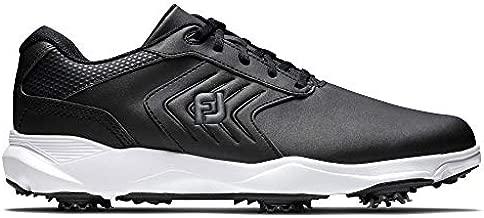 FootJoy Men's eComfort Golf Shoe, Black, 10.5