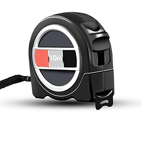 Telescópica impermeable cinta métrica portátil 3M-10M Cinta de acero inoxidable Cinta métrica herramienta de medición de la regla (Color : 10M x 25MM)