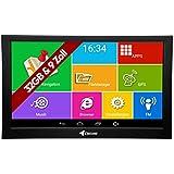 Elebest Pro A900 Navigationsgerät 22,8cm 9 Zoll Display, Android 6.0, WiFi, Radarwarner,Tablet PC, Wohnmobil, LKW, PKW, 32GB Speicher, Bluetooth, Kostenlose Lebenslange Updates