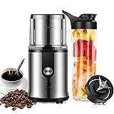 Nestling 2 en 1 Mini moulin à café électrique et mixeur smoothie blender,Moulin à...