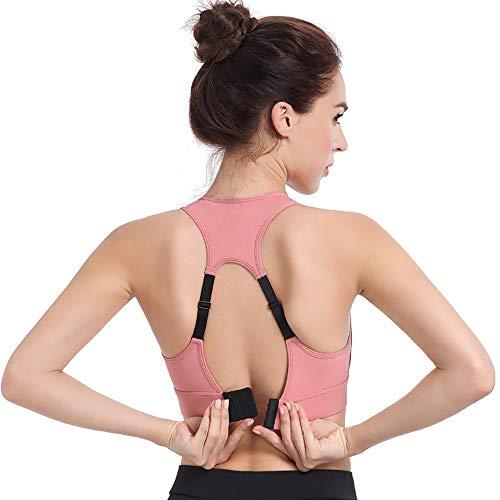 Sujetador Deportivo para Mujerde Impacto Medio, para Yoga, Correr, Ejercicio, Fitness, Bloqueador, Chaleco, para Gimnasio, Crop-Top