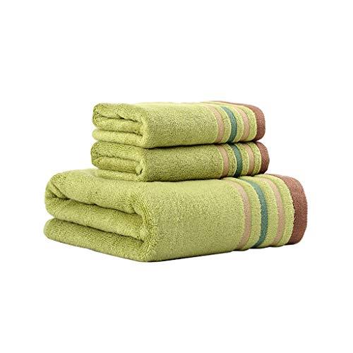 Nff Toallas De Baño, Toallas De Fibra De Bambú, Conjunto De Toallas De Baño Súper Suave, Súper Suave, Súper Absorbente Y Secado Rápido (Toalla De Baño + 2 Toallas) (Color : B)