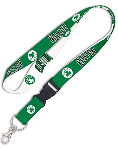 WinCraft NBA Boston Celtics Premium Lanyard Keychain, 20 inches Long, 1 inch Wide