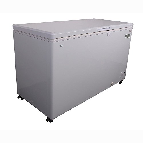 Kelvinator Commercial KCCF170WH Solid Top Chest Freezer, 17 Cu. Ft. Capacity