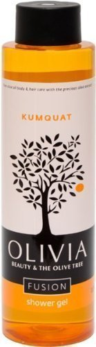 Olivia Papoutsanis Fusion Shower Gel with Kumquat & Greek Olive Oil, 300ml