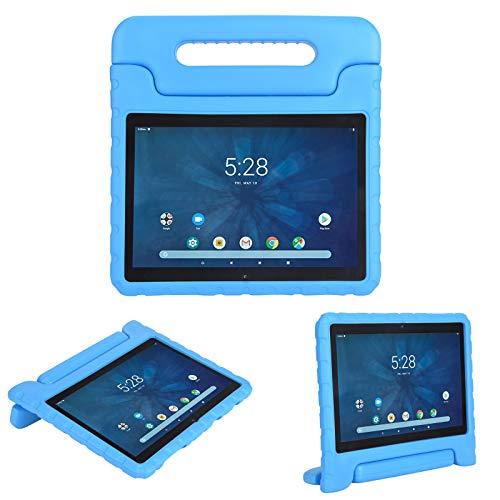 i-original Compatible with Walmart Onn 10.1 Inch Android Tablet 2019 Release (Model: ONA19TB003) Case,Shockproof EVA Case for Kids,Convertible Handle Lightweight Protective Cover (Blue)