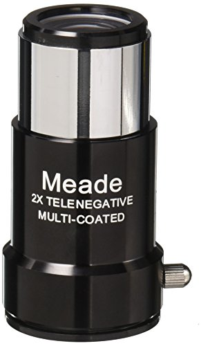 Meade Instruments 07273 #126 1.25-Inch 2x Short-Focus Barlow Lens