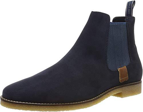 Salamander Herren TREBLO Chelsea Boots, Blau (Navy 22), 42 EU